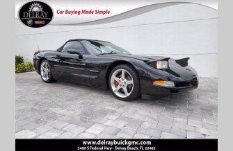 2004 Chevrolet Corvette for sale 101460466