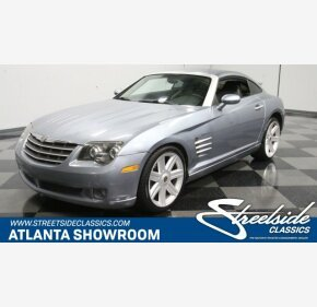 2004 Chrysler Crossfire Coupe for sale 101228047