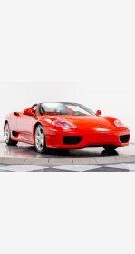 2004 Ferrari 360 Spider for sale 101242130