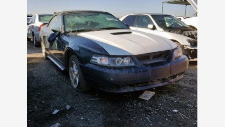 2004 Ford Mustang Convertible for sale 101108582