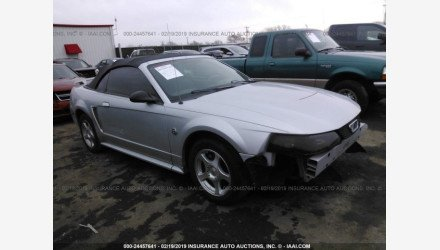 2004 Ford Mustang Convertible for sale 101109950