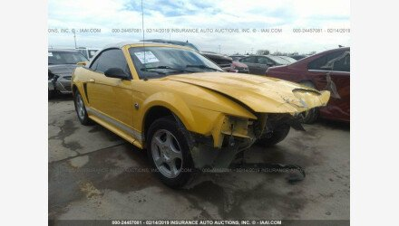 2004 Ford Mustang Convertible for sale 101110537