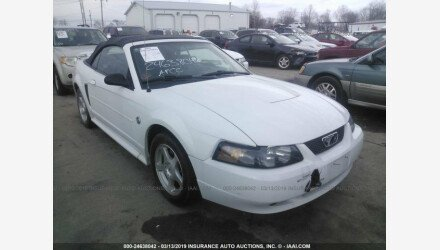 2004 Ford Mustang Convertible for sale 101124812