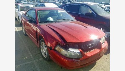 2004 Ford Mustang Coupe for sale 101125611