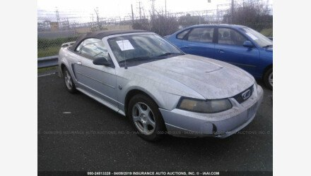 2004 Ford Mustang Convertible for sale 101125864