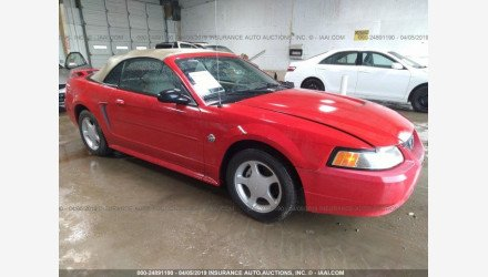 2004 Ford Mustang Convertible for sale 101127733