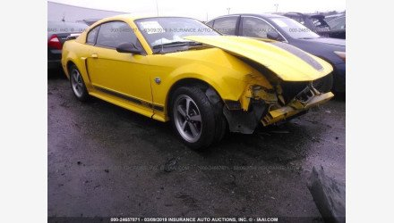 2004 Ford Mustang Mach 1 Coupe for sale 101127766