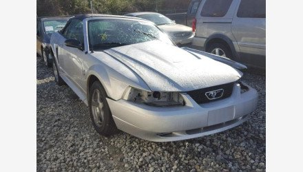 2004 Ford Mustang Convertible for sale 101128701