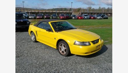 2004 Ford Mustang Convertible for sale 101222706