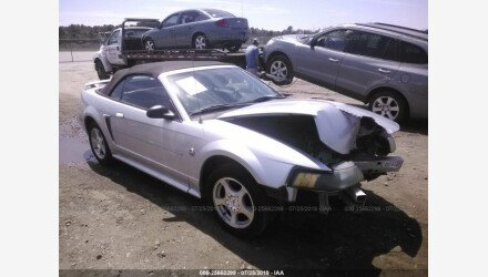2004 Ford Mustang Convertible for sale 101223963