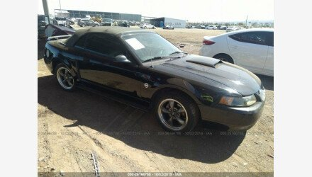 2004 Ford Mustang GT Convertible for sale 101224046