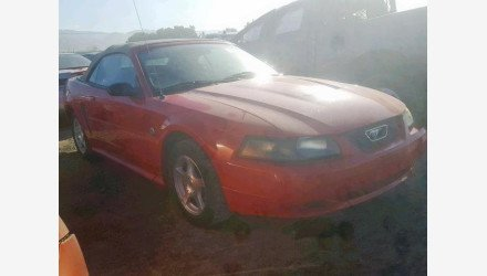 2004 Ford Mustang Convertible for sale 101227298