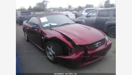 2004 Ford Mustang Convertible for sale 101240099
