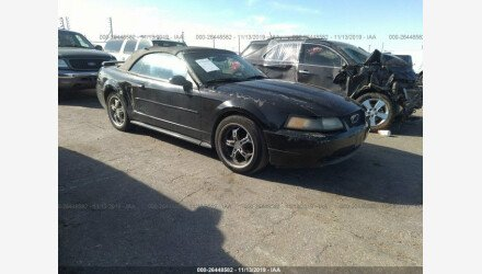 2004 Ford Mustang Convertible for sale 101241105