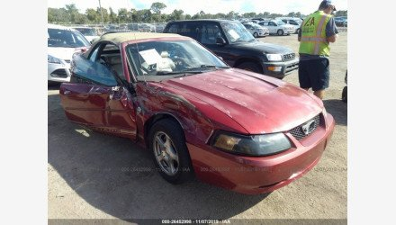 2004 Ford Mustang Convertible for sale 101241301