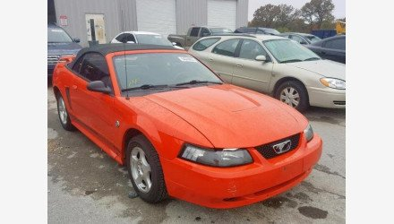 2004 Ford Mustang Convertible for sale 101242239