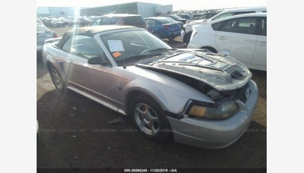 2004 Ford Mustang Convertible for sale 101267412
