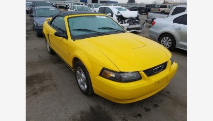 2004 Ford Mustang Convertible for sale 101287796