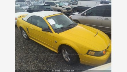 2004 Ford Mustang Convertible for sale 101295220