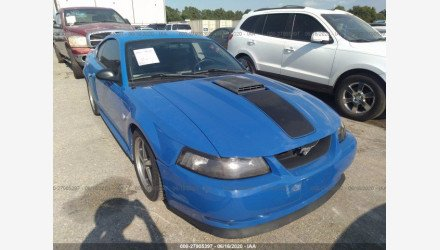 2004 Ford Mustang Mach 1 Coupe for sale 101340582