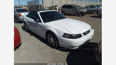 2004 Ford Mustang Convertible for sale 101340605