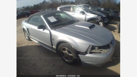2004 Ford Mustang Convertible for sale 101346761