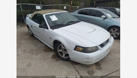 2004 Ford Mustang Convertible for sale 101346831