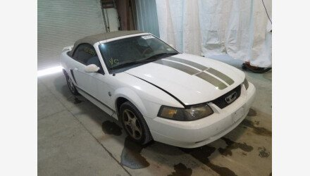 2004 Ford Mustang Convertible for sale 101382309