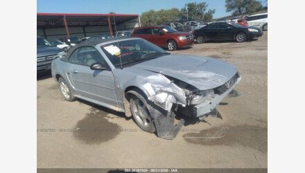 2004 Ford Mustang Convertible for sale 101408519