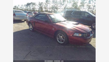 2004 Ford Mustang Convertible for sale 101409959