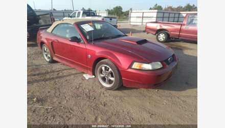 2004 Ford Mustang GT Convertible for sale 101410763