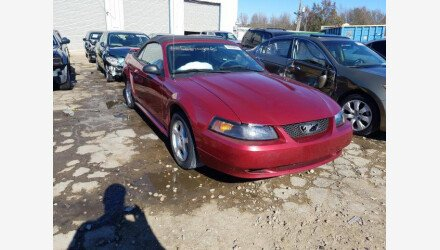2004 Ford Mustang Convertible for sale 101431226