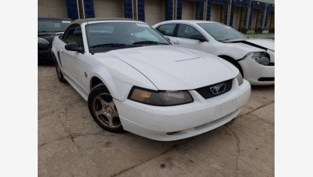 2004 Ford Mustang Convertible for sale 101438665