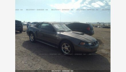2004 Ford Mustang Convertible for sale 101439483