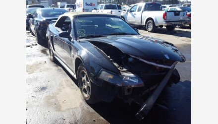 2004 Ford Mustang Convertible for sale 101484242