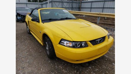 2004 Ford Mustang Convertible for sale 101487516