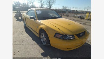 2004 Ford Mustang Convertible for sale 101489993