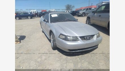 2004 Ford Mustang Convertible for sale 101490983