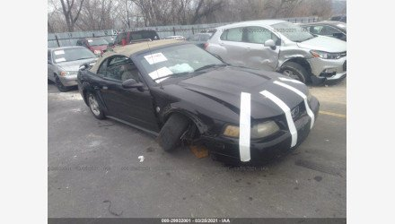 2004 Ford Mustang Convertible for sale 101494374