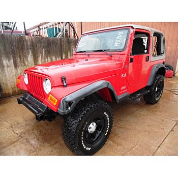 2004 Jeep Wrangler 4WD X for sale 100291520