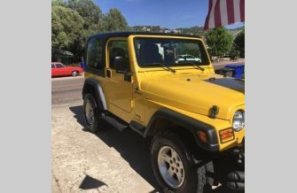 2004 Jeep Wrangler 4WD for sale 100776242