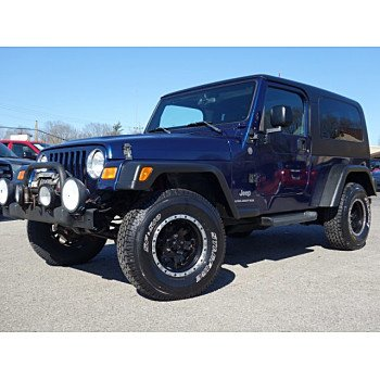 2004 Jeep Wrangler 4WD for sale 100974666