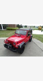 2004 Jeep Wrangler 4WD for sale 101010248
