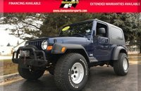 2004 Jeep Wrangler 4WD for sale 101060167