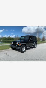 2004 Jeep Wrangler 4WD for sale 101093789