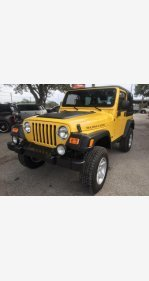 2004 Jeep Wrangler 4WD Rubicon for sale 101094389