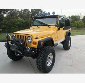 2004 Jeep Wrangler for sale 101094394