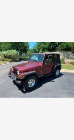 2004 Jeep Wrangler 4WD Sahara for sale 101157071