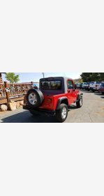 2004 Jeep Wrangler 4WD X for sale 101221230