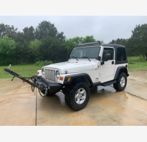 2004 Jeep Wrangler 4WD for sale 101308090